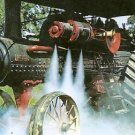 Old World Wisconsin 1912 Port Huron Compound Steam Engine Threshing Rye Postcard