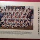 "1983 Milwaukee Brewers ""STATE FAIR PARK"" Police Card Set"