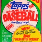 1990 Topps Basebll cards  (1) Pack