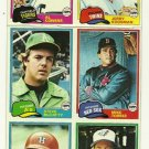 1981 Topps Baseball Uncut Sheet MIKE TORREZ JERRY KOOSMAN