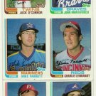 1982 Topps Baseball Uncut Sheet  GREG GROSS MIKE PARROTT