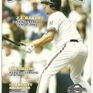 2007 MILWAUKEE BREWERS Gameday Program - J. J. HARDY on cover