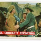 # 51 (Orange Back) Col. Crockett Reporting - 1956 Topps Davy Crockett