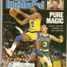 Sports Illustrated 2-23-1987 Pure Magic Johnson Elliott