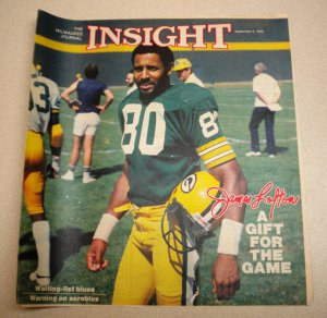 Insight Newpaper Insert JAMES LOFTON Green Bay Packers 1983