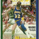 Sports Illustrated 12-14-1992 Magic Johnson Larry Bird MEMORIES