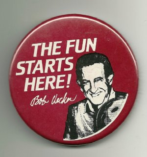 The Fun Starts Here Bob Uecker Pin Bowling
