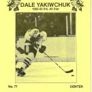 Milwaukee Admirals DALE YAKIWCHUK  Pabst Blue Ribbon Beer