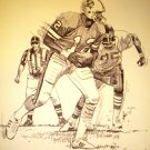 Doug Williams Tampa Bay Buccaneers Shell Oil Drawing NFL 1981