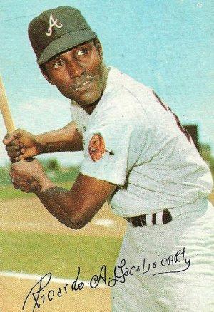 Rico Carty Atlanta Braves 1971 Topps Super Baseball Card