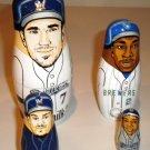 2009 Milwaukee Brewers Nesting Dolls (Hardy, Hall, Fielder, Weeks)