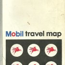 1969 Foldout Map of Milwaukee Wisconsin Mobil