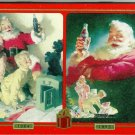 1999 Coca-Cola Collectible Santa Playing Cards in a Tin (2 Decks)