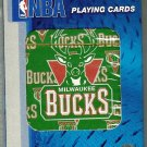 Playing Cards MILWAUKEE BUCKS Basketball Standard 52 Pack