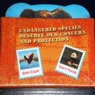 Set of 6 Endangered Species Coasters NEW