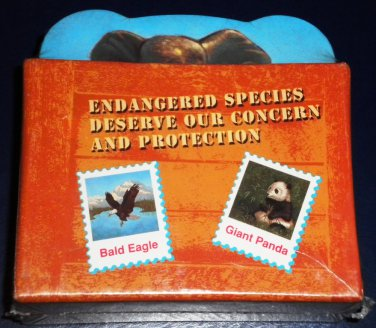 Set of 6 Endangered Species Coasters NEW