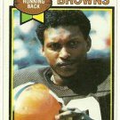 1979 Topps Football Card # 249 MIKE PRUITT Cleveland Browns