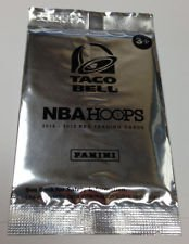 2012-13 Panini Hoops NBA Taco Bell Unopened Pack Basketball Cards Kyrie Irving Lebron