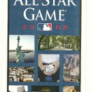 2008 MLB All Star Game Ballot Baseball Card Major League Baseball