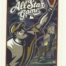2002 MLB All Star Game Ballot Baseball Card Major League Baseball