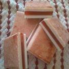 Pomegranate Mimosa. 5 oz. Organic Soap Bar