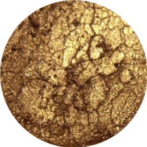 Gold Leaf Mineral Loose Eye Pigment (5.5 grams)
