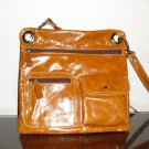 Sofismart Rusty Brown leather crossbody