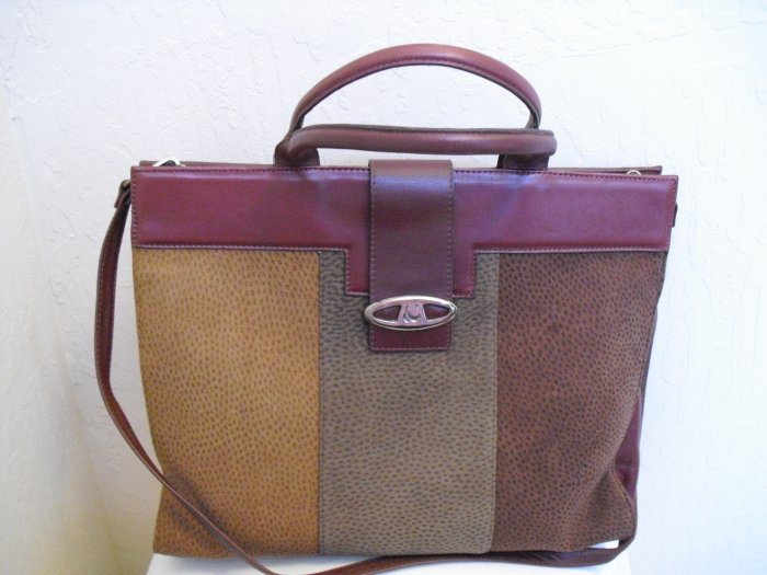 Chiarini brown lamb leather tote
