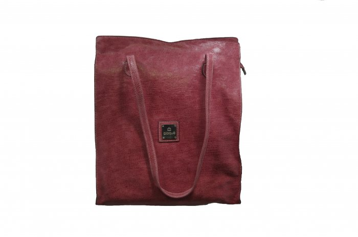 BLAQUE-  Pink Leather Tote