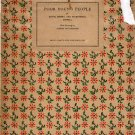 Poor Young People; Edith Sitwell, et al; (HC 1925 Numbered #59/375) POETRY Free Shipping