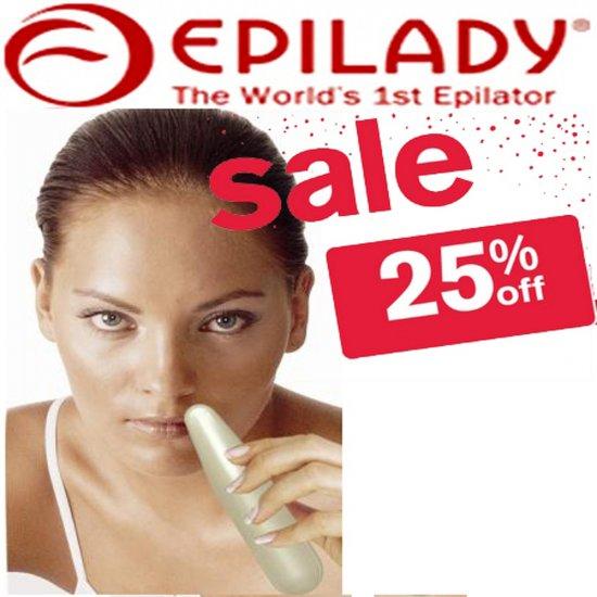 Epilady facial epilator