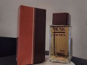AVON MUSK FOR MEN Cologne splash 2.8 fl oz-free shipping