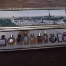 NEW Les Meilleurs Parfums de Paris 10 mini bottles -FREE SHIPPING-RARE