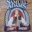 SAMUEL ADAMS BREWSTER PATRIOT CRAFT BREWS TIN SIGN-FREE SHIPPING