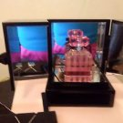Victoria's Secret Bombshell  Eau de Parfum 1.7 OZ+SOLID PERFUME ON CHAIN+BOX SET