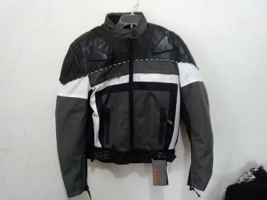 NEW WITH TAGS MENS X Element Advanced Motorcycle Gear Jacket Size L BLK/GRY