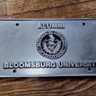 Bloomsburg University of PA-Alumni Cast Aluminum License Plate