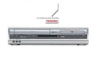 Toshiba Sdv391 Progressive Scan Dvd-vcr Combo