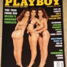 Playboy Magazine - November 1993 Brazillian triplets, college sex, Lennox Lewis, Hollywood