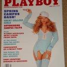 Playboy Magazine - April 1993 Cindy Crawford, Nicole Wood, college girls, Frank Zappa