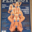 Playboy Magazine - January 1992 Swedish Bikini Team, Woody Harrelson, college basketball