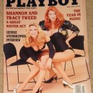 Playboy Magazine - May 1991 Shannon & Tracy Tweed, music, George Steinbrenner, Whitney Houston