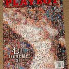 Playboy Magazine January 1999 45th anniversary issue, Tom Clancy, Steve martin, Kirstie Alley, cars