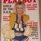 Playboy Magazine - November 1998 Girls of the ACC, Mike Tyson, Love & lust, college Jimmy Hoffa