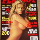 Playboy Magazine - November 2002 Kristy Swanson (Buffy the Vampire Slayer), Al Qaeda, Willie Nelson