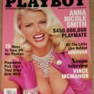 Playboy Magazine - February 2001 Anna Nicole Smith, Survivor, Vince McMahon, hot cars & babes