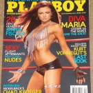 Playboy Magazine - April 2008 Maria Kanellis, Jenna Fischer, nude flight attendants, Chad Kroeger