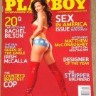 Playboy Magazine - February 2008 Nude Hooters girls, Rachel Bilson, Matthew McConaughey, strippers