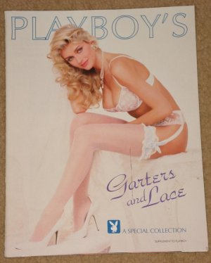 Playboy Magazine - 1992 Garters & Lace Special collection supplement, Pam (pamela) Anderson