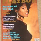 Playboy Magazine - June 1990 Renee Tenison, Mickey Rourke, horse racing, bikes, 30something tv show